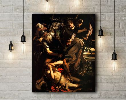Caravaggio: The Conversion of Saint Paul. Fine Art Canvas.